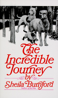 The Incredible Journey By Burnford, Sheila/ Burger, Carl (ILT)